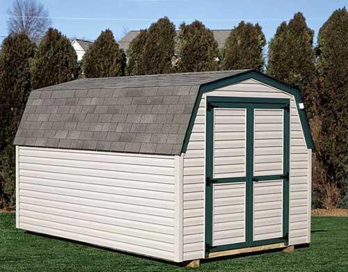 Amish Shed - Dutch Barn