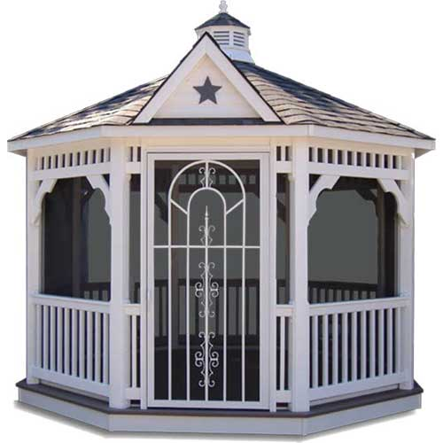 Red Rose Gazebo