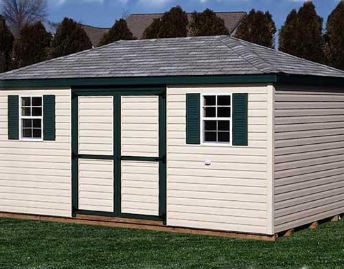 Amish Shed - Cottage 2