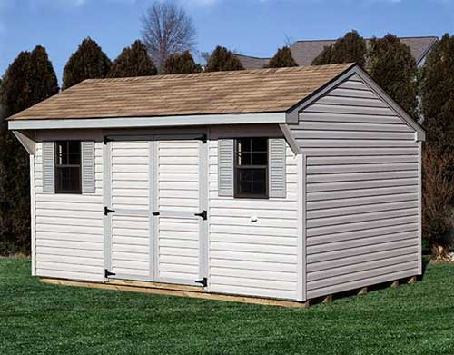 Amish Shed - Saltbox
