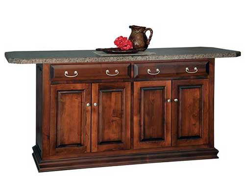 Country Heritage Kitchen Islands